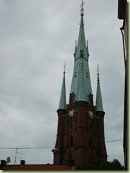 出车站就能看到的高耸的教堂